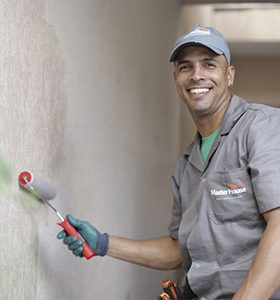 Pintor em Juquiá, SP