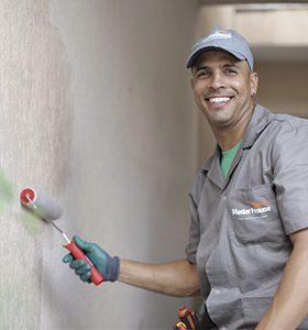 Pintor em Fernando Prestes, SP
