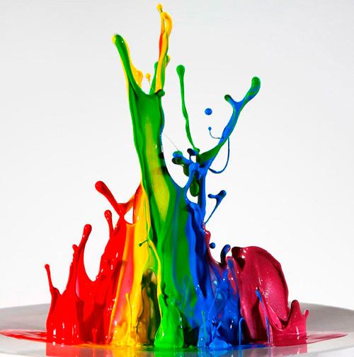 Tipos de tinta e cores para cada ambiente