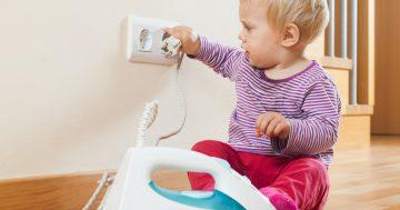 Proteja seu bebê contra possíveis perigos do lar