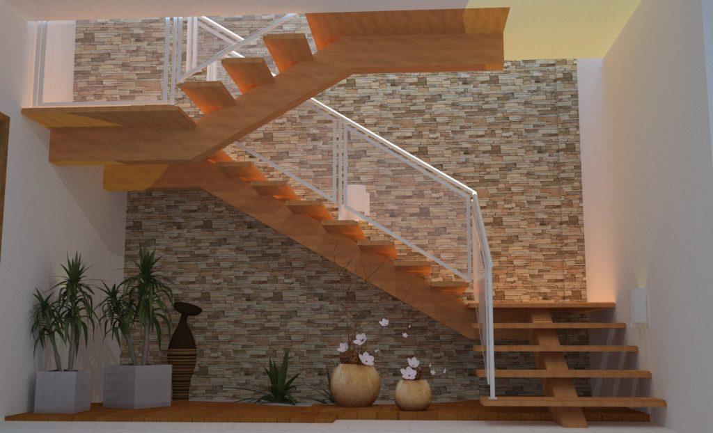 Como garantir seguran a em escada master house for Apliques para subida de escalera