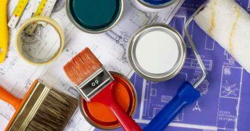 Conheça os diferentes pincéis e rolos para pintura