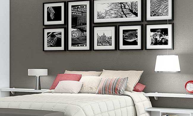 Ideias de como decorar com quadros