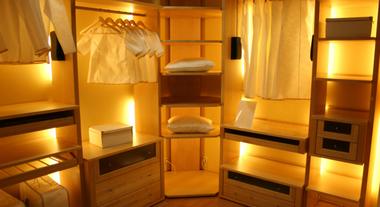 Closet Bonito com Iluminação