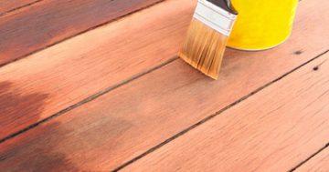Dica para conservação de decks de madeira