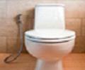 Instalação de ducha higiênica