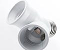 Instalação de soquete de iluminação