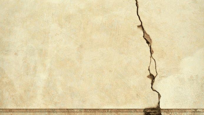 Saiba o que pode causar rachadura em parede