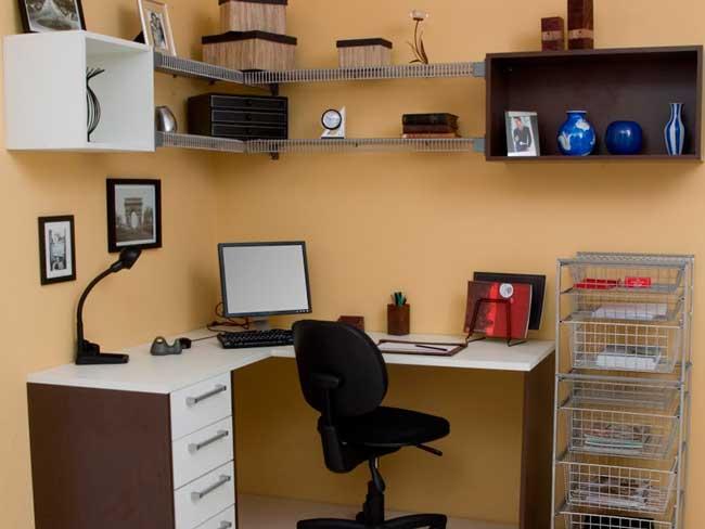 Exemplo de pequeno Home Office