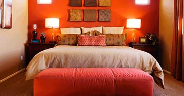 Cor ideal para o quarto do casal
