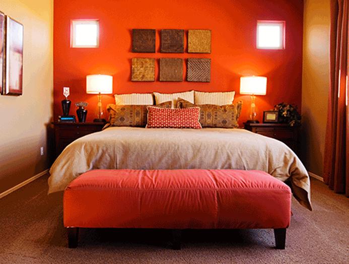 Cores ideais para quarto de casal  Master House