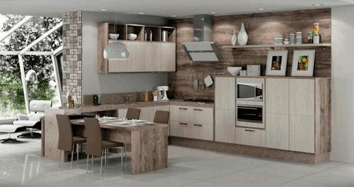Ideias e dicas de cozinhas planejadas - Master House