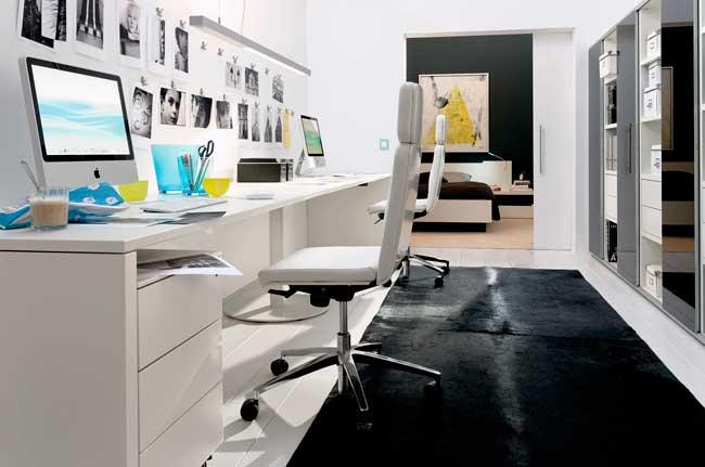 Home Office com Drywall feito por Gesseiro