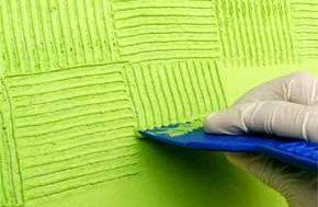 Como aplicar e pintar com textura