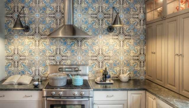 Decoração com azulejo antigo