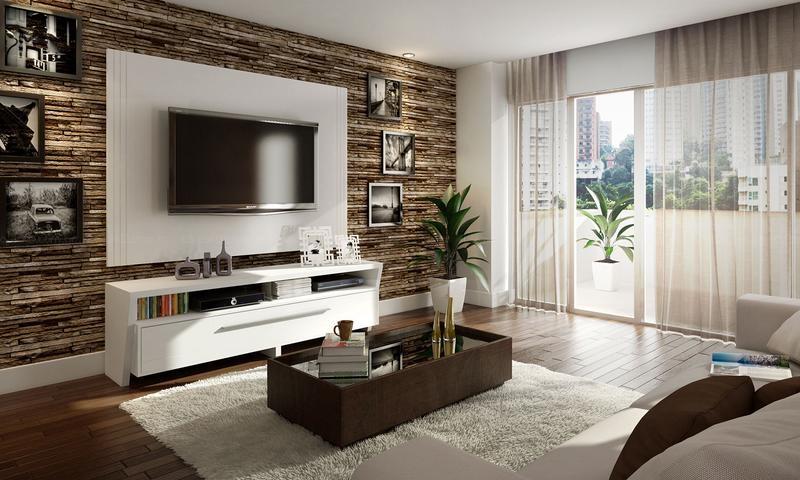 decorar sala branca:Decorar Sala Pequena