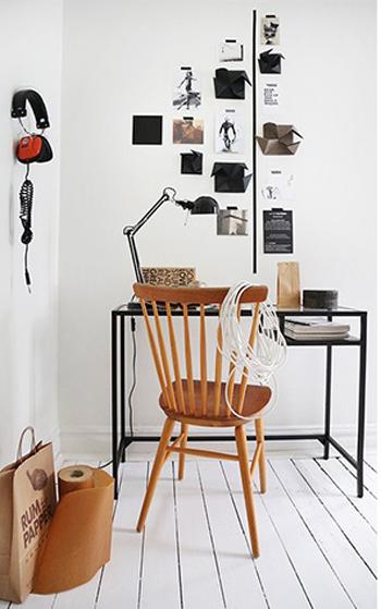 Home Office - Estilo Escandinavo