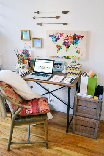 Home-Office---Boho