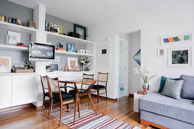 Decoração para espaços pequenos em apartamentos