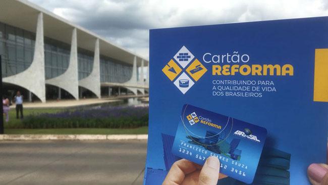Senado aprova medida provisória que cria programa Cartão Reforma