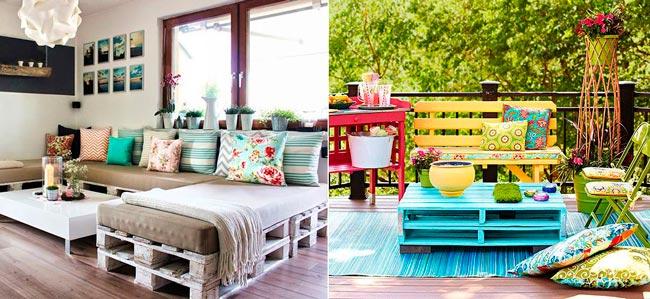 móveis feitos com pallets