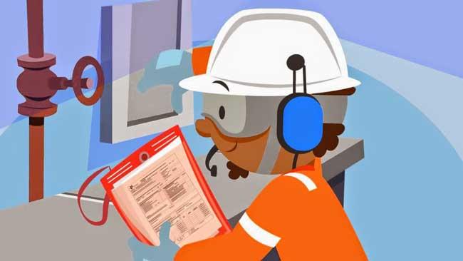 inspeção de equipamentos