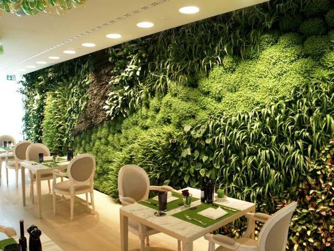 jardim vertical elegante