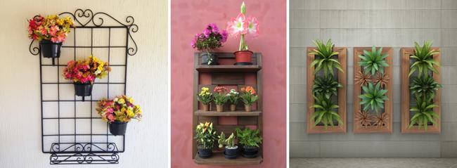 jardins verticais em espaços pequenos e abertos