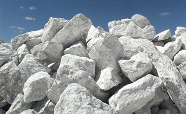 pedras de gipsita