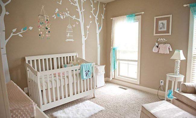 Ideias de decoração para o quarto do bebê