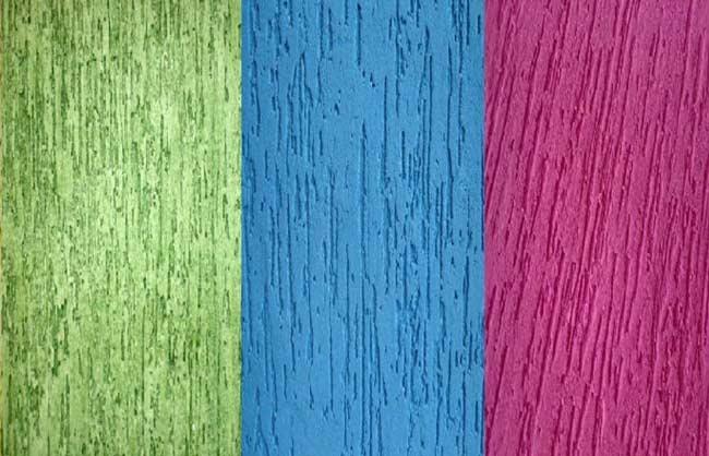 diversas cores de grafiato