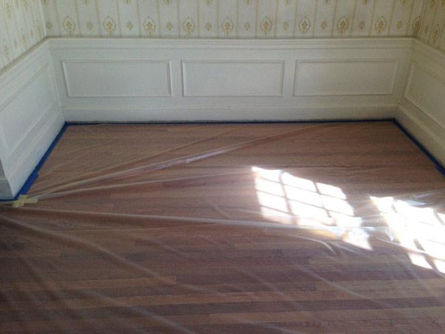 como proteger piso antes da reforma