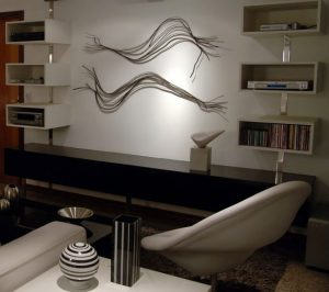 esculturas sala de estar