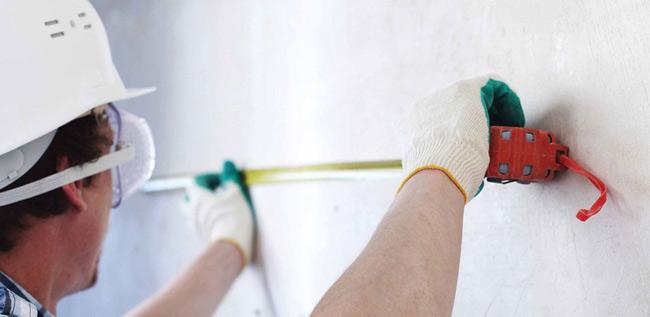 como medir paredes