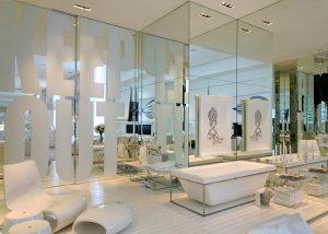 parede de espelho