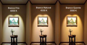 Luz quente, luz neutra, luz fria, como compor?