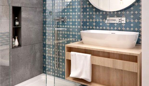 Ideia de armário compacto para banheiro