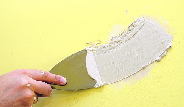 Preparando a parede para receber pintura
