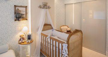 Ideias de decoração para quartos de bebês