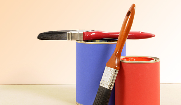 Empresas oferecem experiência de pintura